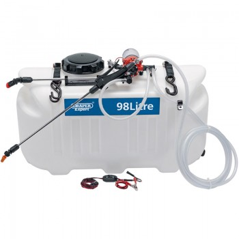 12V DC ATV Spot/ Broadcast Sprayer (98L)