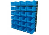 24 Bin Wall Storage Unit (Large Bins)