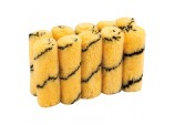 100mm Tiger Stripe Paint Roller Sleeves (Pack of 10)