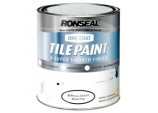 One Coat Tile Paint 750ml - Brilliant White
