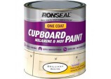 One Coat Cupboard Melamine & MDF Paint 750ml - Brilliant White