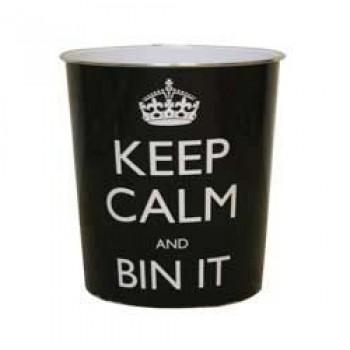 Keep Calm Plastic Bin