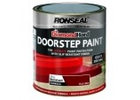 Diamond Hard Door Step Paint 750ml - Red