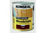 Quick Drying Woodstain Satin 750ml - Teak