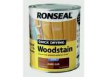 Quick Drying Woodstain Satin 750ml - Dark Oak