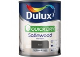 Quick Dry Satinwood 750ml - Black