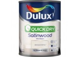Quick Dry Satinwood 750ml - Almond White