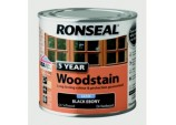 5 Year Woodstain 250ml - Ebony