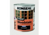 5 Year Woodstain 750ml - Ebony