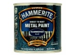 Metal Paint Hammered 250ml - Blue