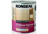 Crystal Clear Outdoor Varnish 750ml - Satin