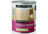 Crystal Clear Outdoor Varnish 750ml - Matt