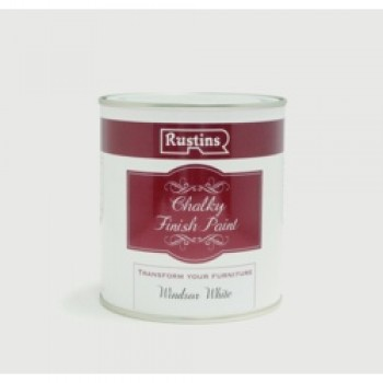 Chalky Finish Paint 250ml - Windsor White
