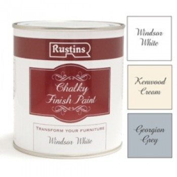 Chalky Finish 500ml - Windsor White