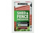 Shed & Fence Preserver 5L - Autumn Brown