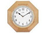 Richmond Octagonal Wood Wall Clock - Wood