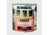 10 Year Woodstain Satin 250ml - Deep Mahogany