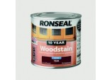 10 Year Woodstain Satin 250ml - Teak