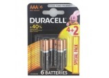 4 Plus 2 Pack Batteries - AAA