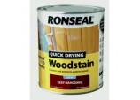 Quick Drying Woodstain Satin 750ml - Deep Mahogany