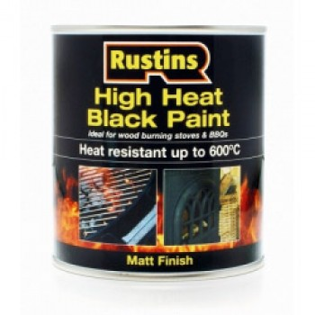 High Heat Paint Black - 500ml