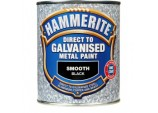 Direct To Galvanised Metal Paint 750ml - Black