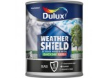 Weathershield Exterior Quick Dry Gloss 750ml - Black