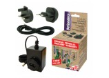 Universal 9v Mains Adapter + 5M Extension