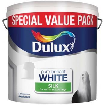 6 Litre Silk Emulsion - Pure Brilliant White