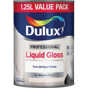 1.25 Litre Professional Liquid Gloss Pure Brilliant White