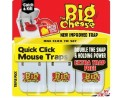 Quick Click Mouse Trap - 3 pack