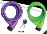 10mm x 120cm Locking Cable Assorted colours