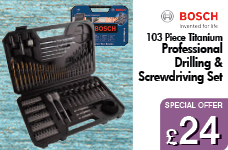 Titanium 103 Piece Drilling & Screwdriving Set – Now Only £24.00