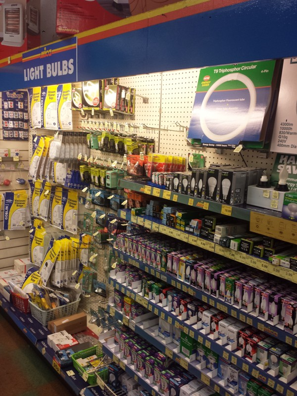 Our massive lightbulbs range