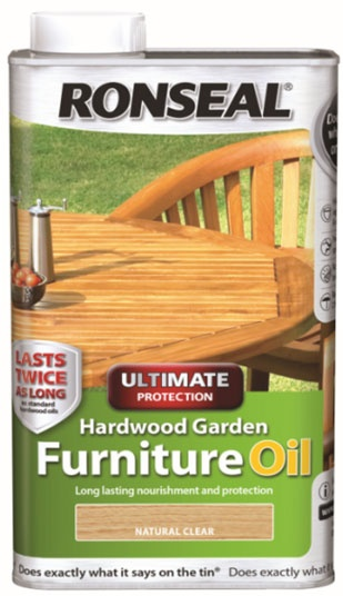 Hardwood Furniture Oil 1L Natural Clear – Now Only £9.00