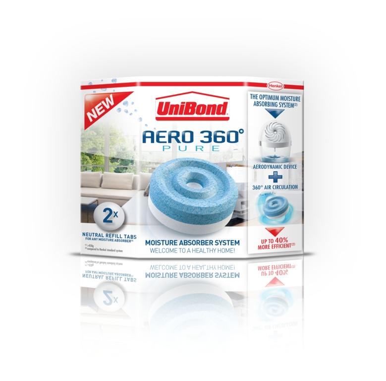 Aero 360 Moisture Absorber Refill 2 x 450g Original – Now Only £7.00