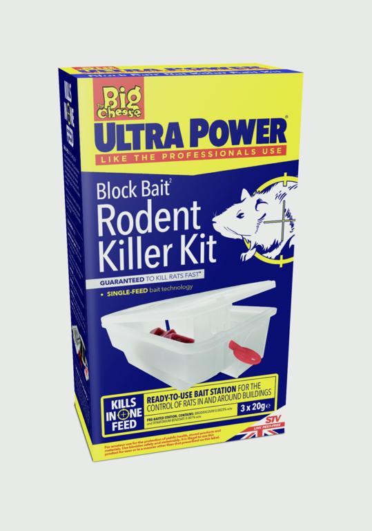 Ultra Power Block Bait Rodent Killer Kit – Now Only £8.00