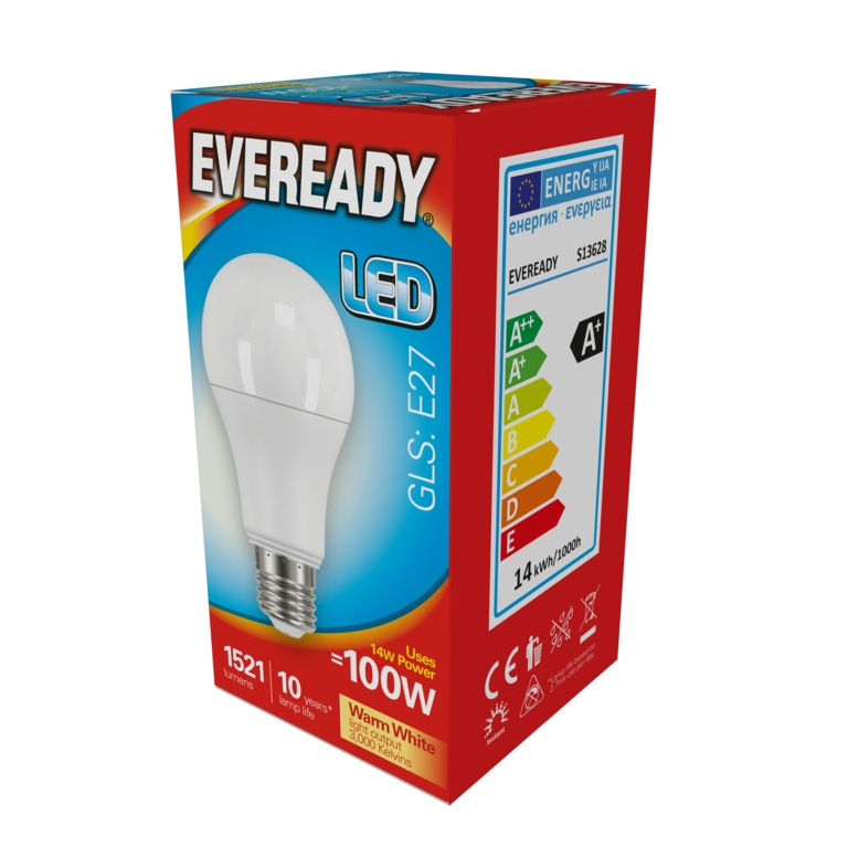 Eveready LED GLS 14w E27 – Now Only £3.00