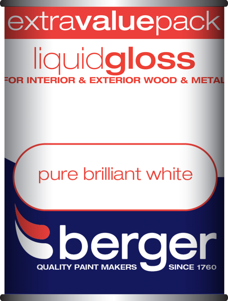1.25L Pure Brilliant White - Liquid Gloss – Now Only £9.00