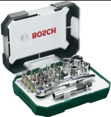 26 Piece screwdriver bit and ratchet set – Now Only £14.00