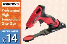 Arrow Professional High Temp Glue Gun – Now Only £14.00